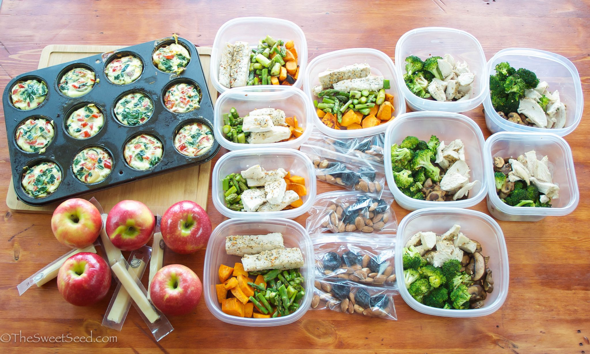 Three Benefits to Meal Prepping